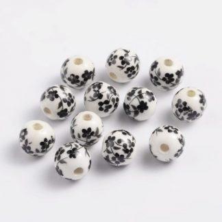 Porcelán gyöngyök